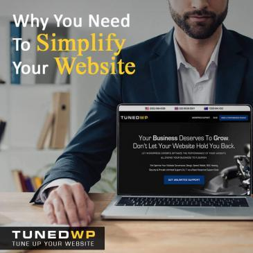 Why You Need To Simplify Your Website