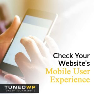 Check Your Website's Mobile User Experience